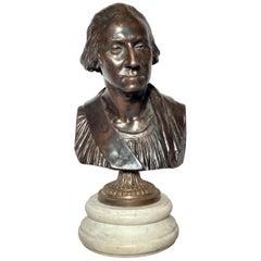 Antique Bronze of George Washington, Cast, circa 1900