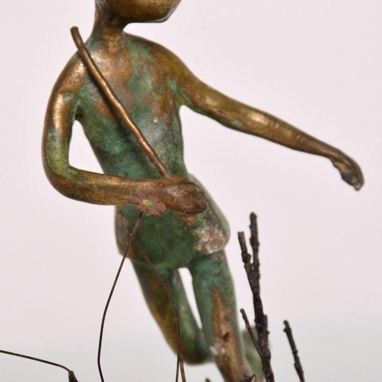 Unknown Antique Bronze Sculpture