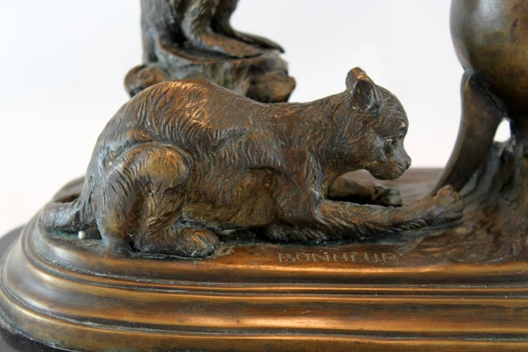 Antique bronze sculpture by Isidore Bonheur