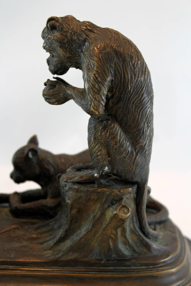 Antique Bronze Sculpture by Isidore Bonheur, Made in France, Paris, circa 1865 For Sale 4