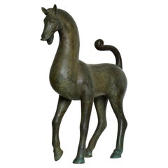 Antique Bronze Sculpture Horse Fine Antique by Toto
