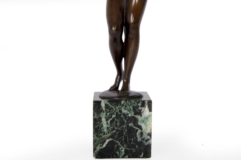 German Antique Bronze Sculpture