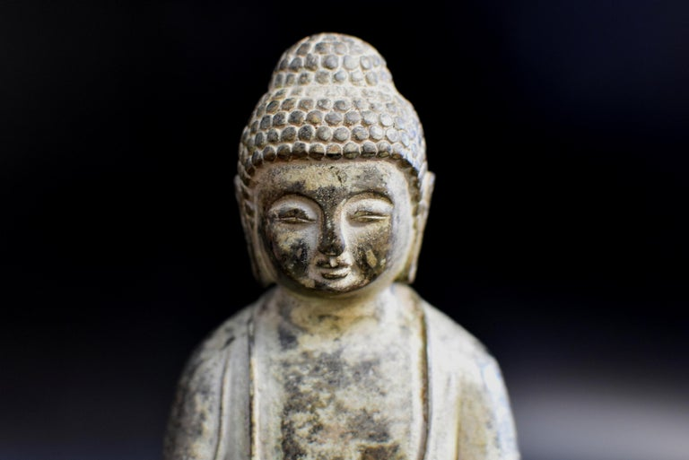 Bronze Statue of Young Buddha For Sale 5
