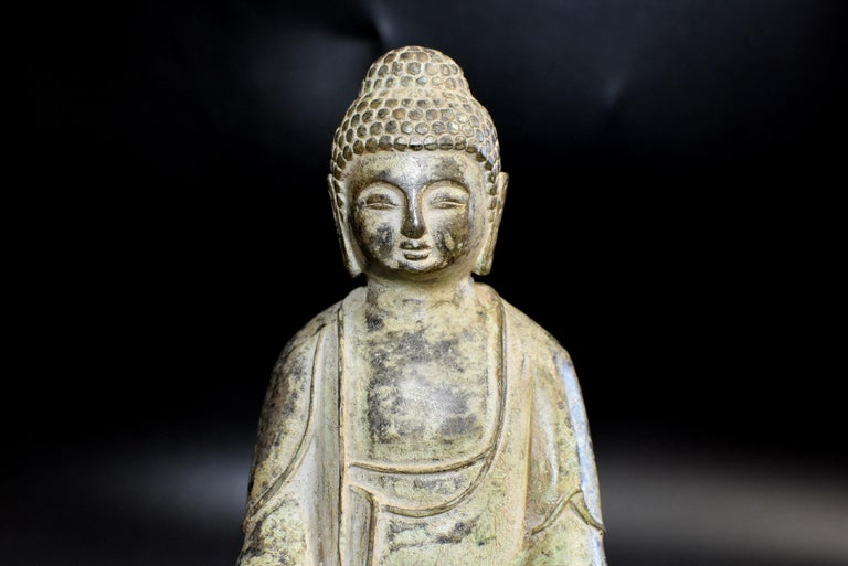 Bronze Statue of Young Buddha For Sale 6