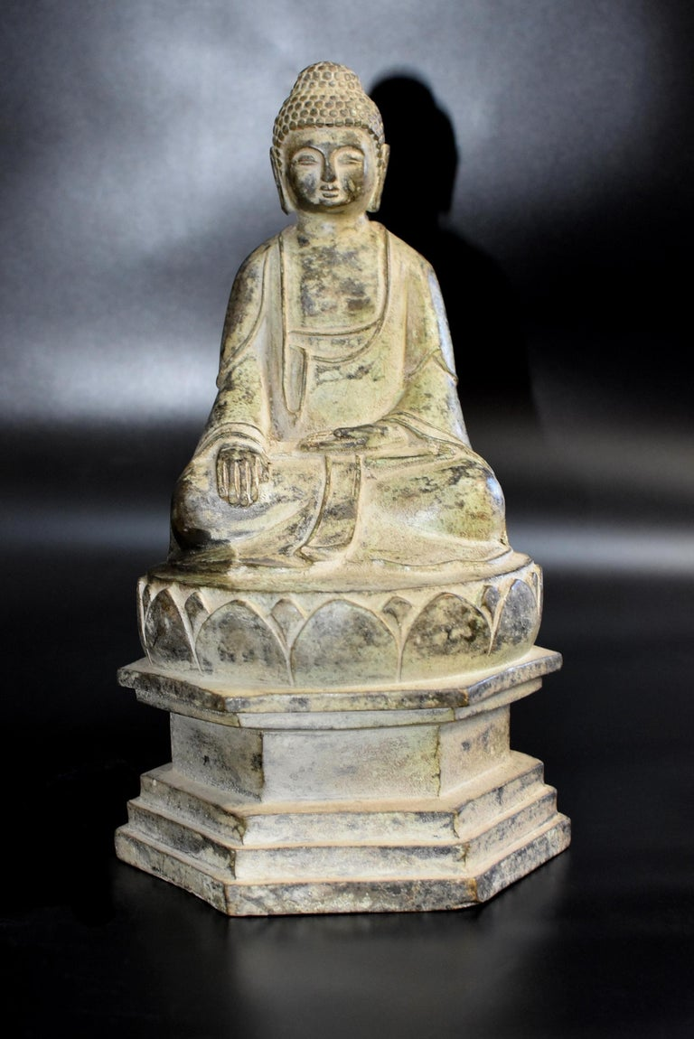 Bronze Statue of Young Buddha For Sale 9
