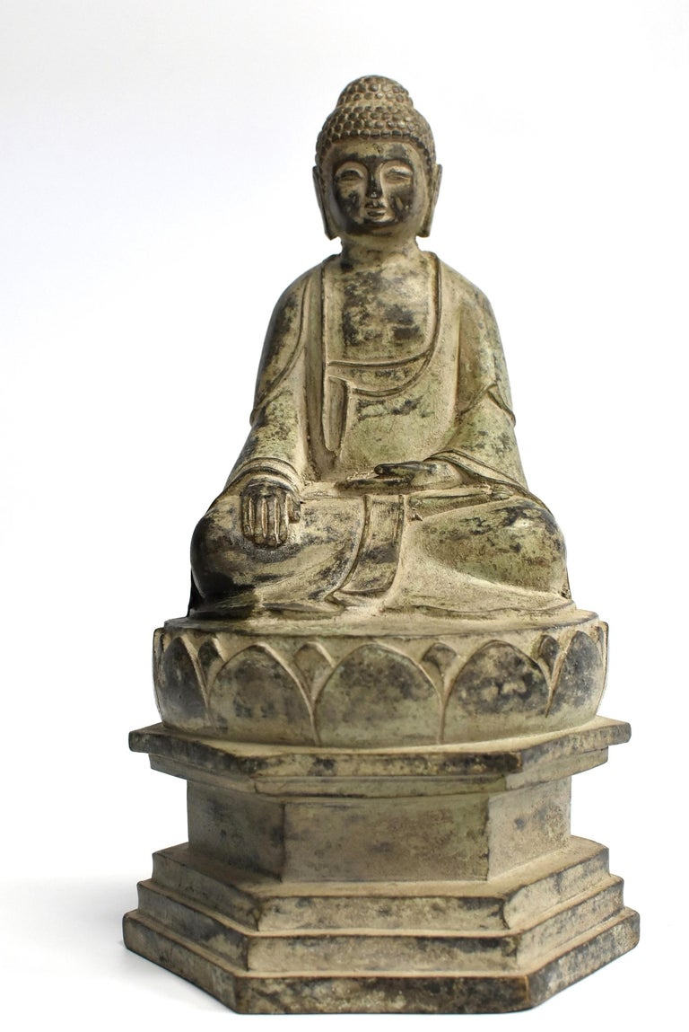 Bronze Statue of Young Buddha For Sale 10