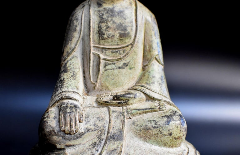 Chinese Bronze Statue of Young Buddha For Sale