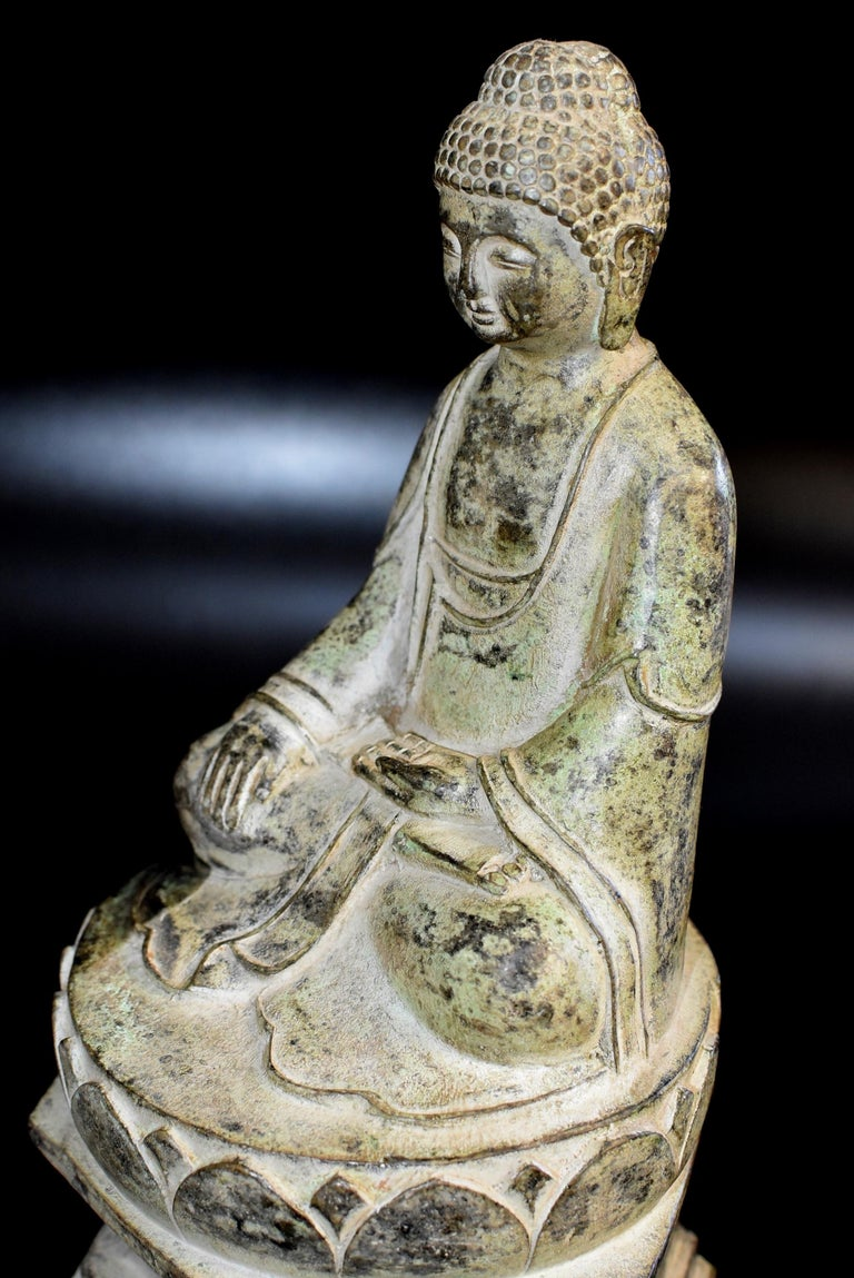 Bronze Statue of Young Buddha For Sale 2