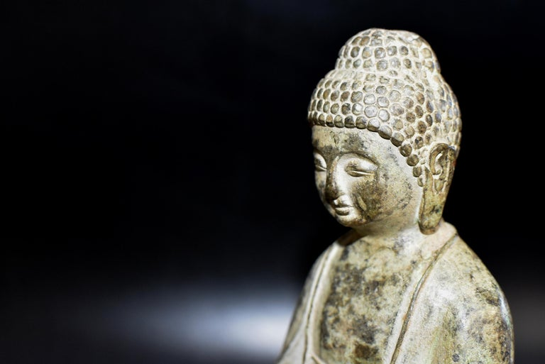 Bronze Statue of Young Buddha For Sale 3