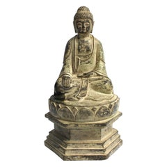 Antique Bronze Statue of Young Buddha