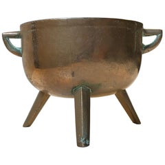 Antique Bronze Tripod Cauldron, Bowl, Unknown