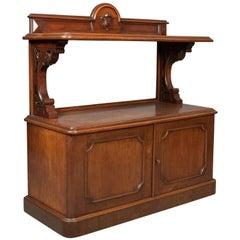 Antique Buffet, Scottish Server Cabinet, Mahogany, Mid-Victorian, circa 1870