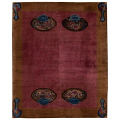 Metal Chinese and East Asian Rugs