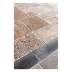 Antique Burgundy Dalles of French Limestone