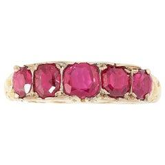 Antique Burma Ruby Dress Ring