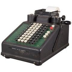 Antique Burrough's Adding or Figuring Machine, circa 1920-1930