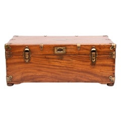Antique Camphor Wood Travelling Trunk, circa 1880