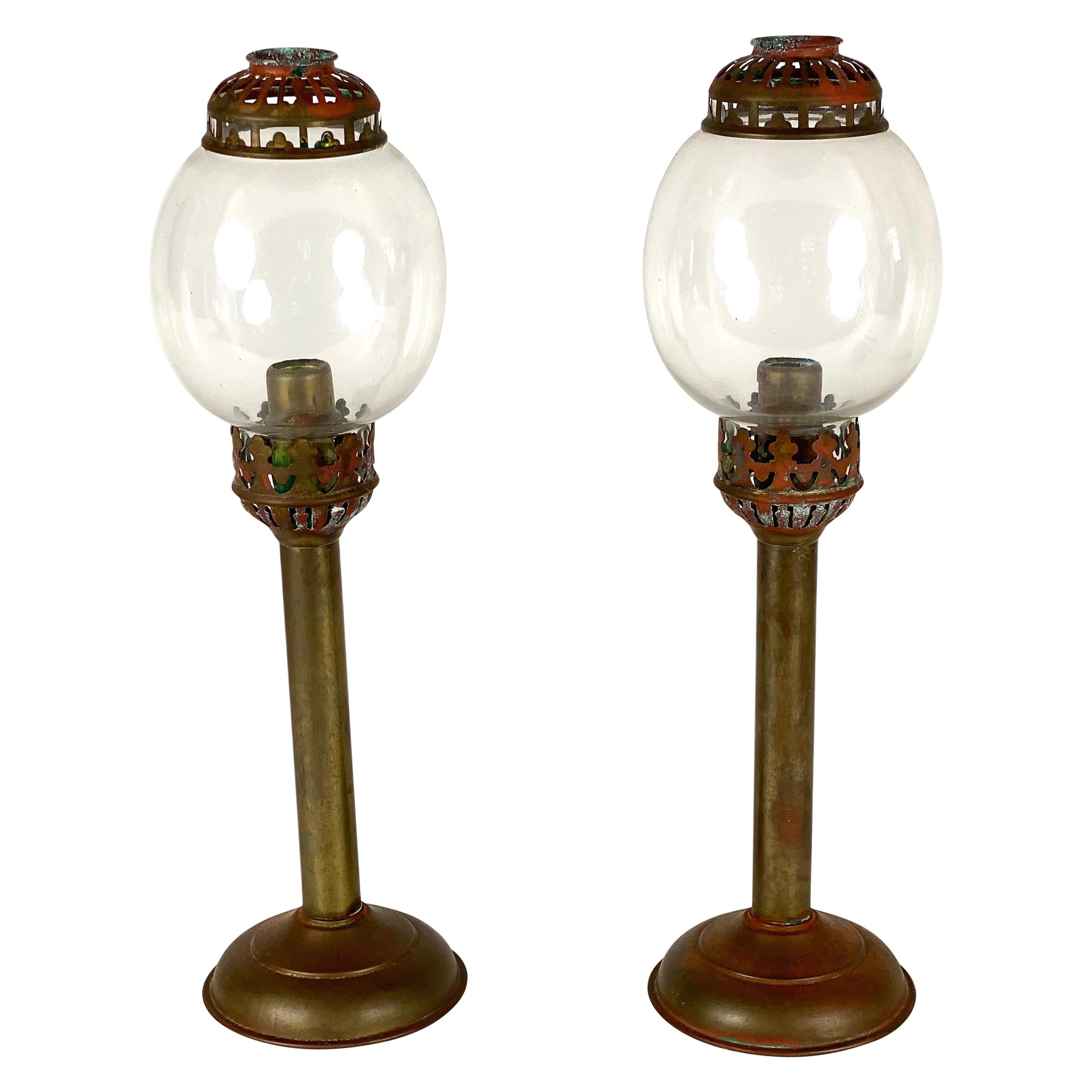 Antique Candle Stick Holders