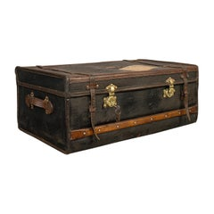 Antique Captain's Uniform Travel Case, English, Shipping, Suitcase, Victorian