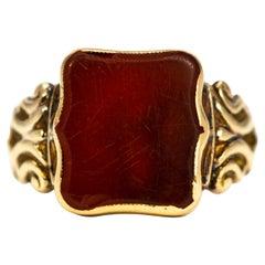 Carnelian Signet Rings