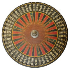 Antique Carnival Game Wheel