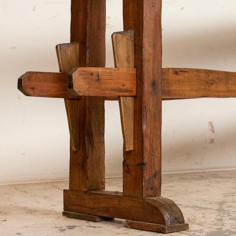 19th Century Antique Carpenter's Work Bench Work Table, Denmark