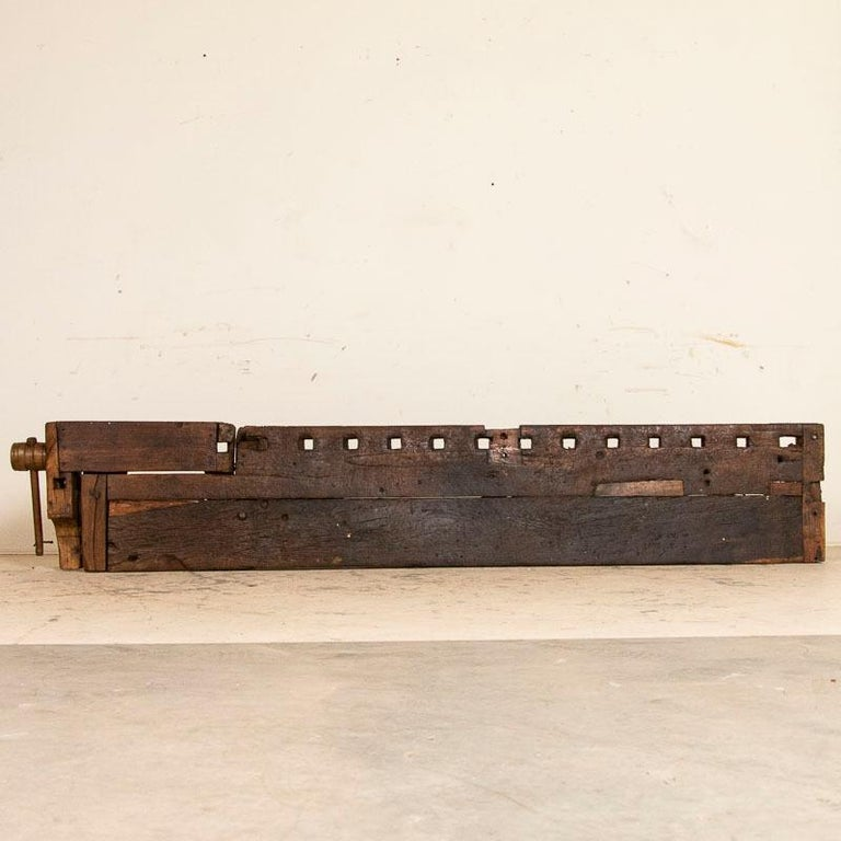 Antique Carpenter's Work Bench Work Table, Denmark 2