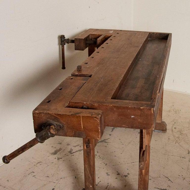 Antique Carpenter's Workbench, Denmark 1