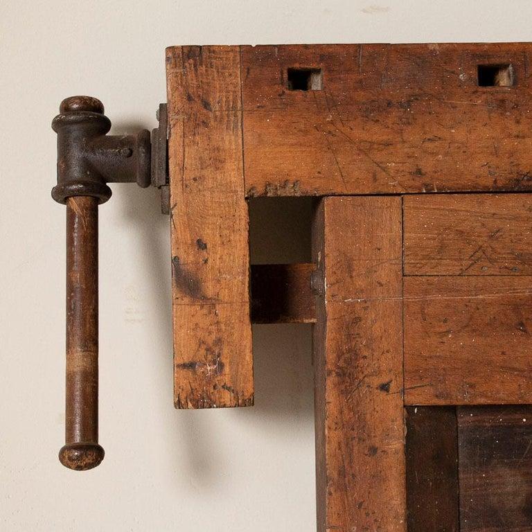 Antique Carpenter's Workbench, Denmark 3