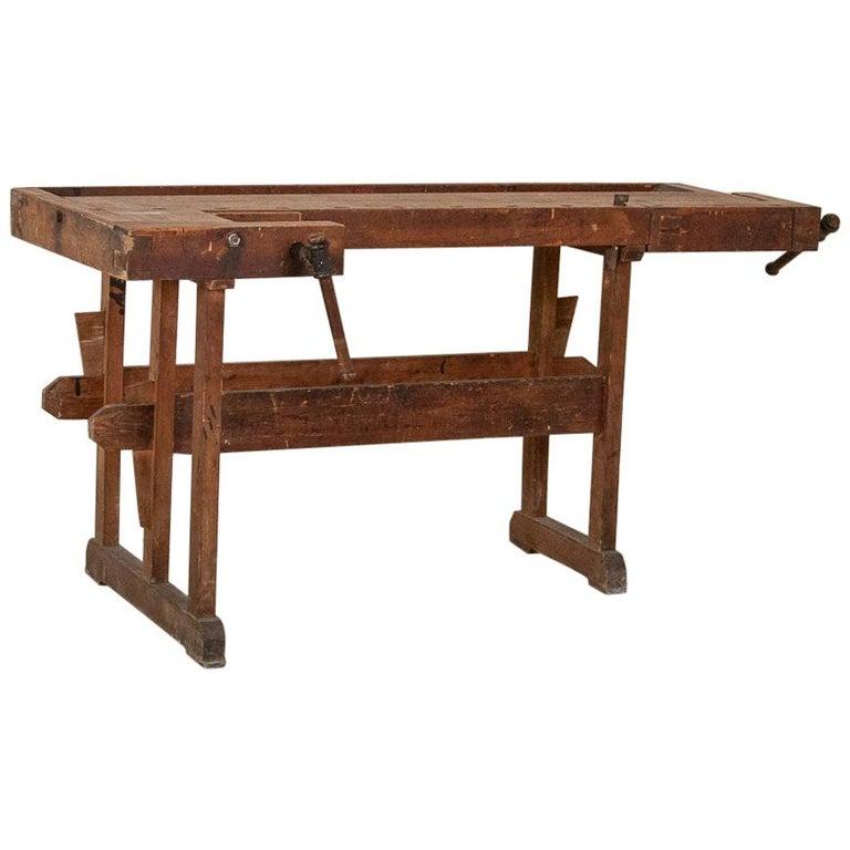 Antique Carpenter's Workbench, Denmark