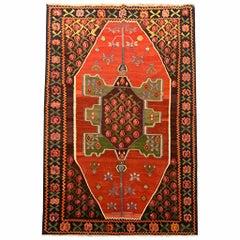 Antique Carpet Caucasian Karabagh Kilim Rug