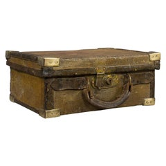Antique Cartridge Case, English, Sporting Trunk, WT Hancock, London, Victorian