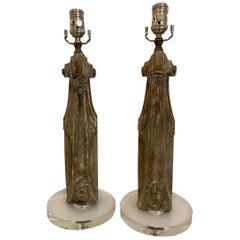 Antique Carve Lamps