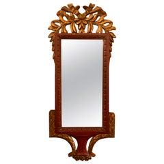 Antique Carved Wood Mirror, circa 1910-1920