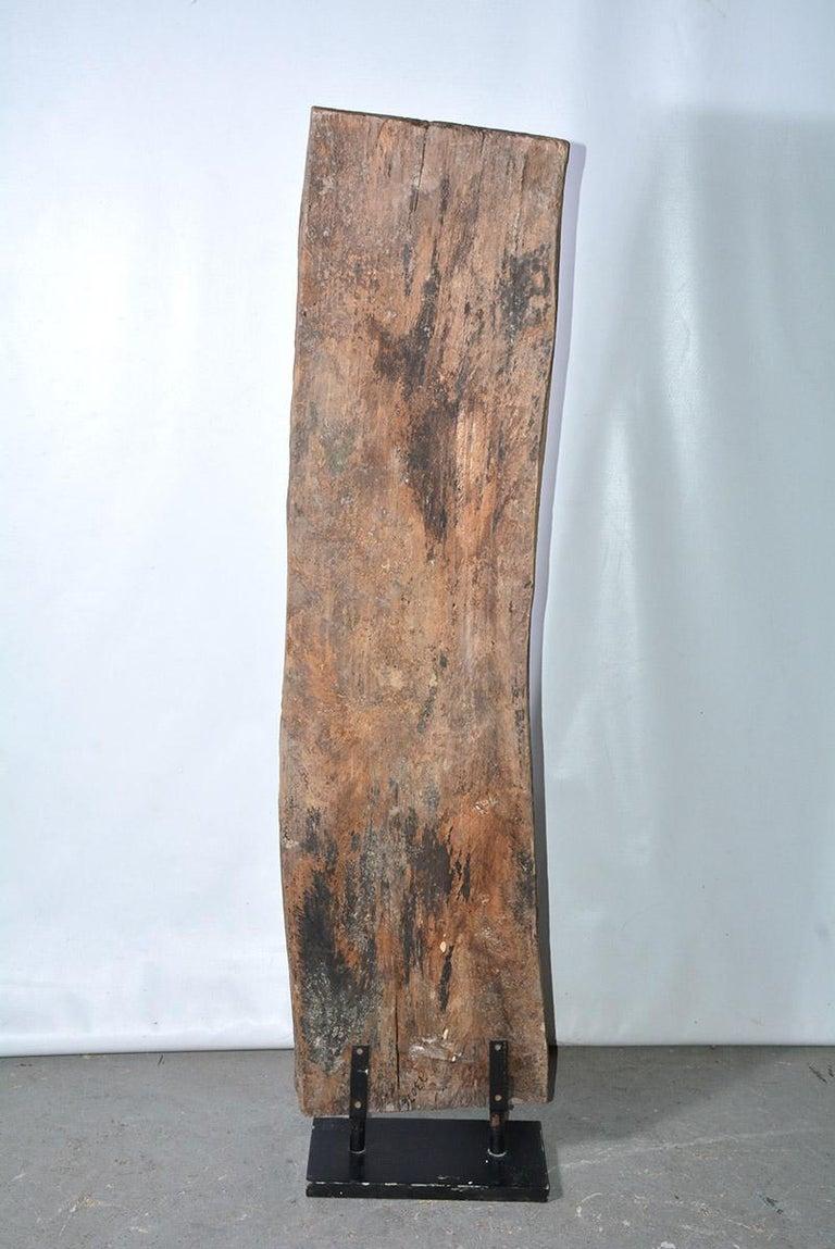 Primitive Antique Carved Wood Sculpture For Sale