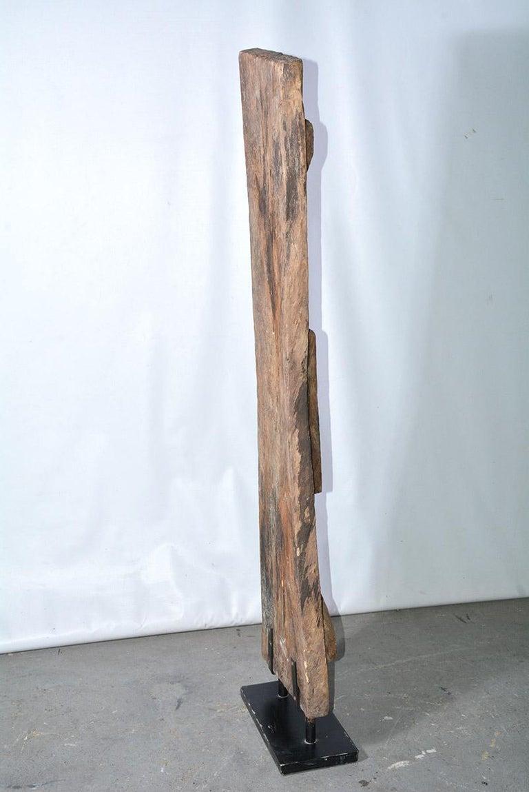 Antique Carved Wood Sculpture For Sale 2