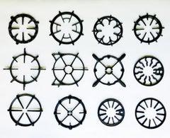 Antique Cast Iron Collection Mid Century Modern Decorative Stove Grates