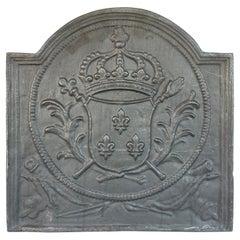 Antique Cast Iron Dutch Fireback