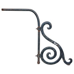 Antique Cast Iron Signage Bracket