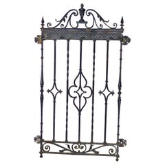 Antique Cast Iron Window Grate from New York City