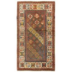 Antique Caucasian Armenian Kazak Rug