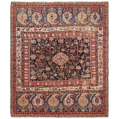 Antique Caucasian Baku Khila Rug. 6 ft 7 in x 7 ft 10 in