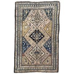 Antique Caucasian Chirwan Karabagh Rug