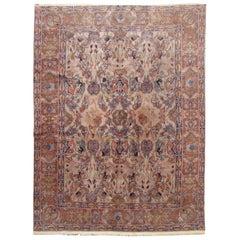 Antique Caucasian Decorative Rug