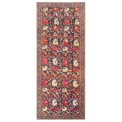 Antique Caucasian Karabagh Rug. Size: 6 ft 5 in x 15 ft 10 in (1.96 m x 4.83 m)