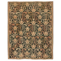Antique Caucasian Karabagh Soumak Rug. Size: 7 ft 2 in x 9 ft 2 in