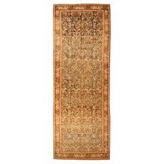 """Antique Caucasian Karabagh Wide Hallway Gallery Rug. Size: 6' 7"""" x 18' 7"""""""