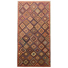 Antique Caucasian Kilim Rug