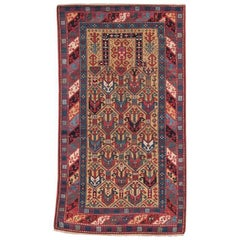 Antique Caucasian Prayer Rug