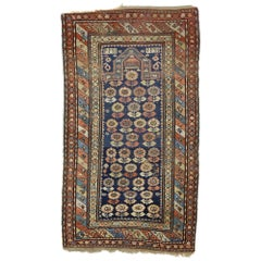 Antique Caucasian Shirvan Prayer Rug